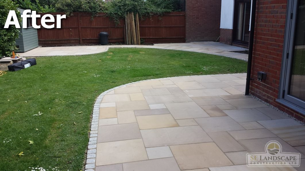 Chelmsford Sandstone Patio U2013 Before 1. Chelmsford ...