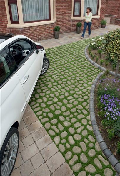 Bioverse Paving System Grass Driveway Pavingse Landscape