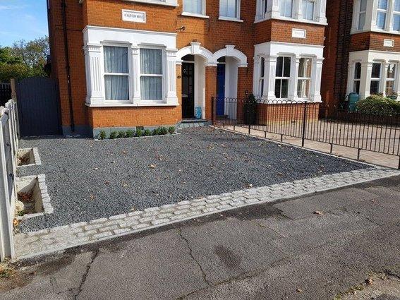 gravel driveway installation in essex