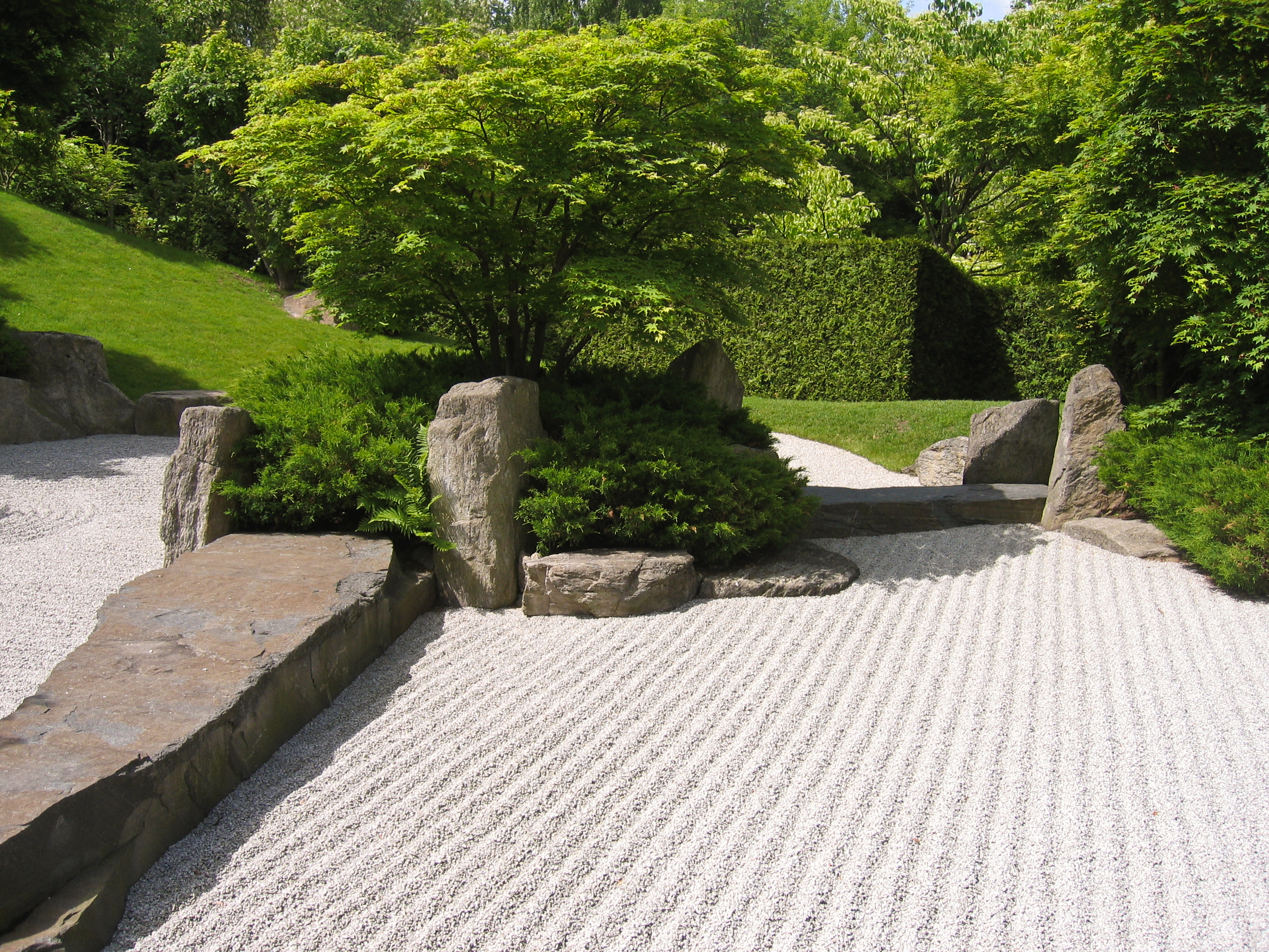 Garden design common garden stylesse landscape for Japanese garden backyard designs