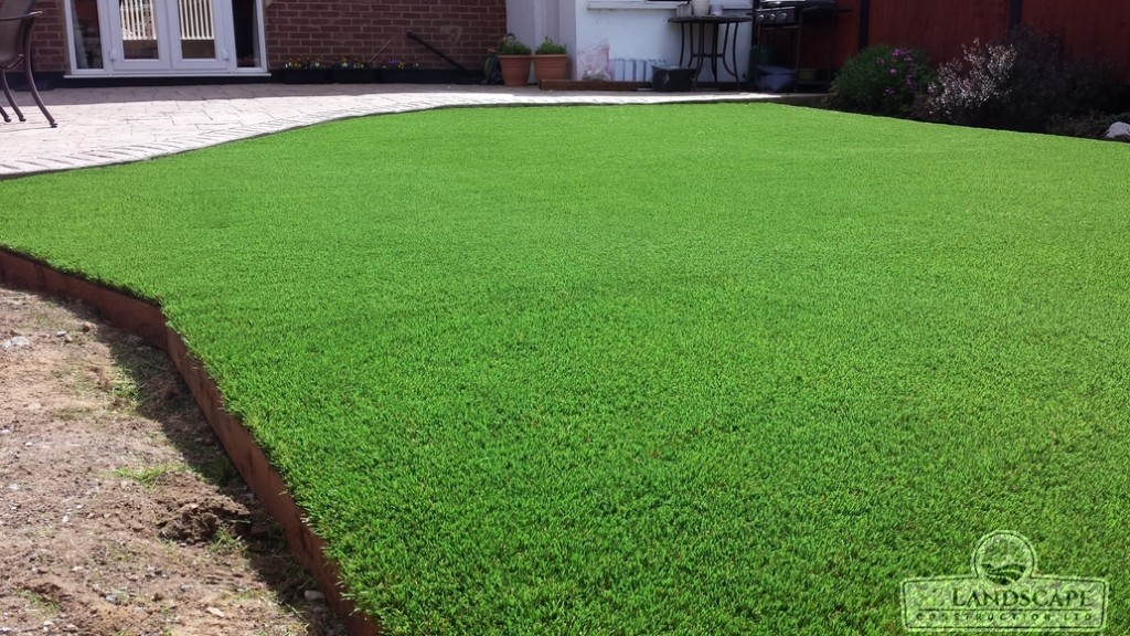 Artificial Grass Grays in Essex - After 2