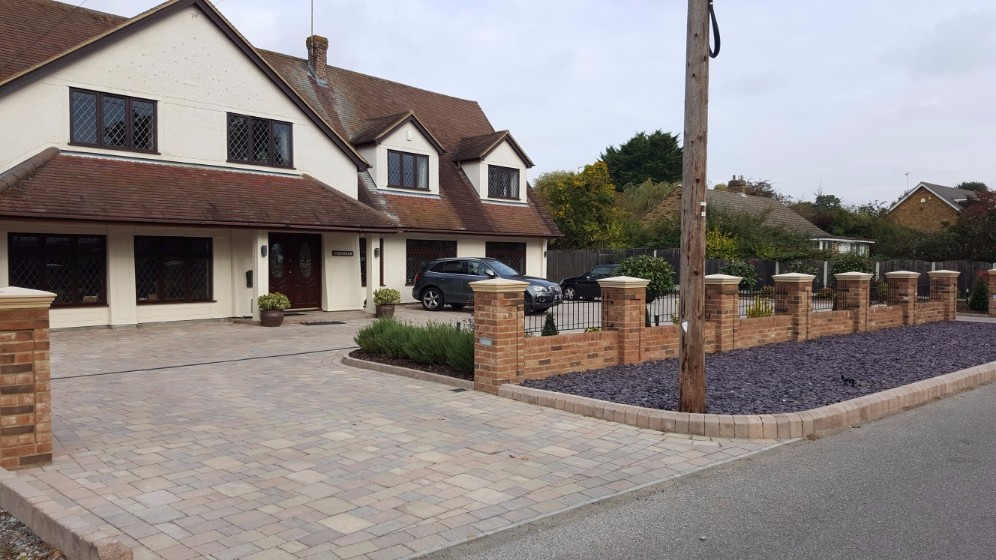 Block Paving in Essex - After