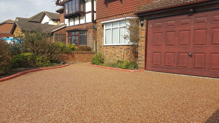 Resin bound driveway installation essex