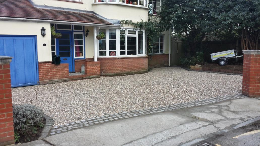Gravel Driveway - Step 5 - Gravel Spread