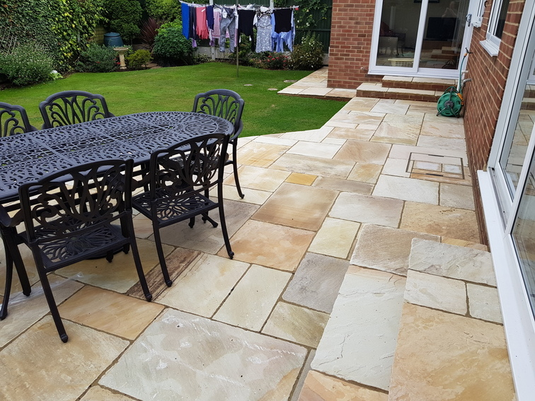Indian Sandstone Patio Chelmsford