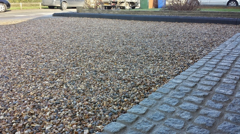 gravel driveway surfacing essex