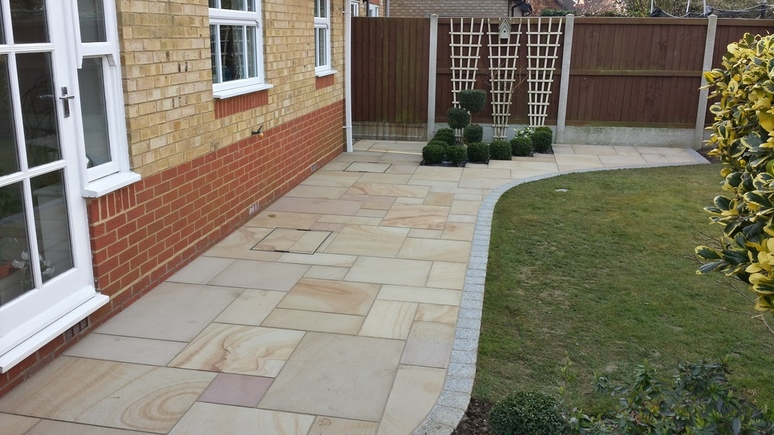 patio installation in essex