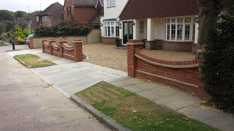 shingle driveway in essex