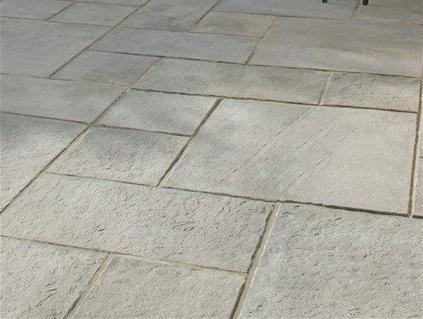 paving slab driveway