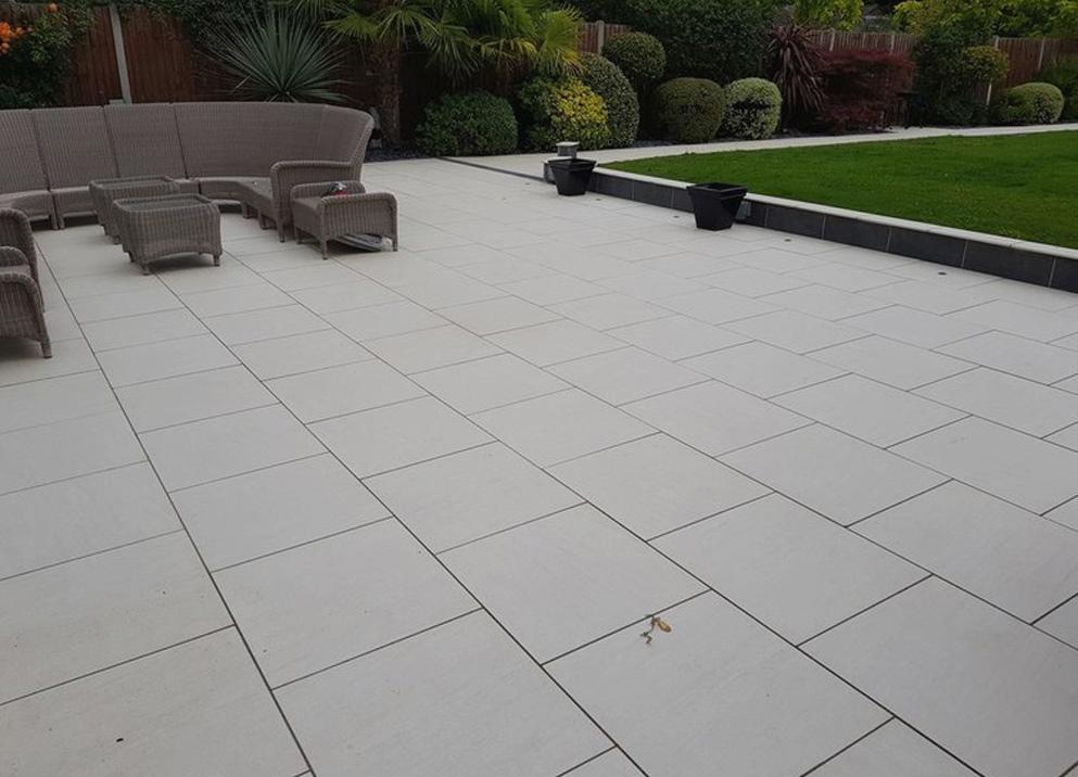 porcelain patio paving in essex